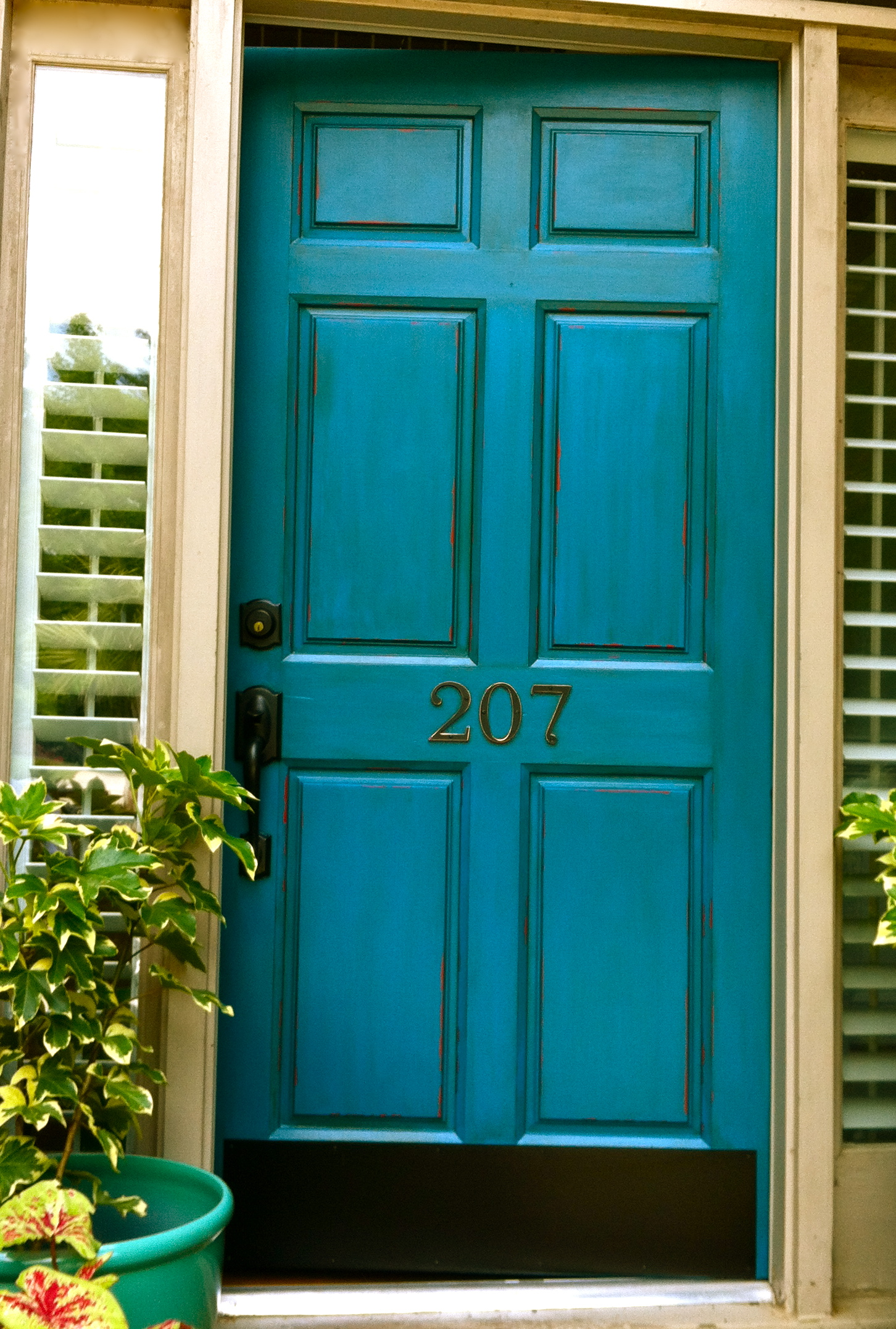 Front Color Door Picking