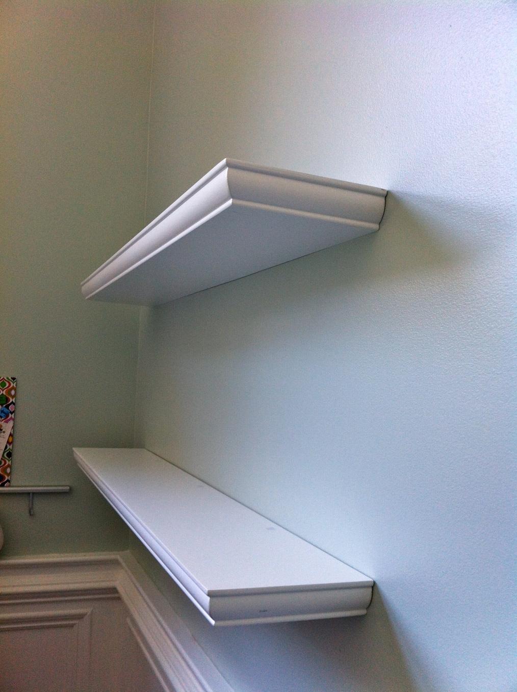 floating shelves for my desk walkthecreativepath