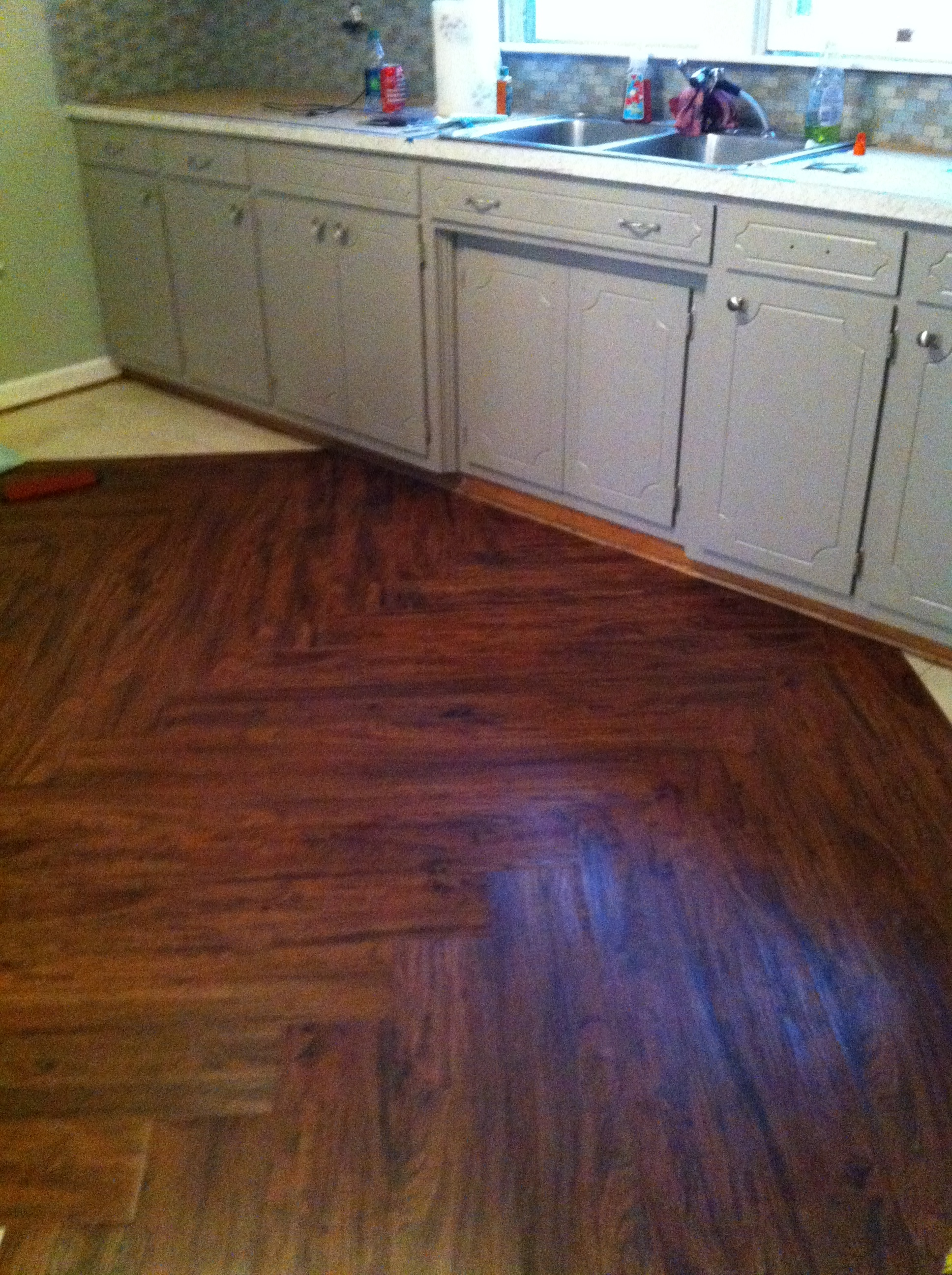 Cherry Luxury Vinyl Plank At Lowes Com Walkthecreativepath