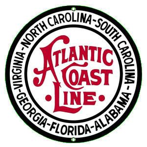 Atlantic Coast Line Sign